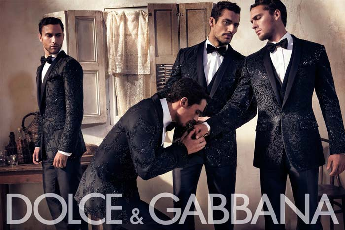 39b8fe16374 Dolce and Gabbana Spring Summer 2010 menswear ad campaign