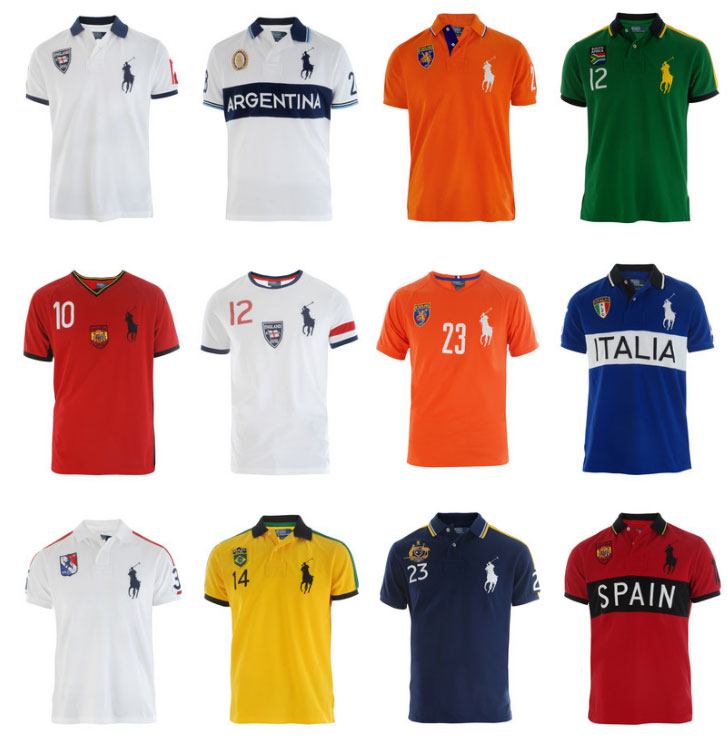 Ralph Lauren World Cup Shirts and Polos Collection  Choose your team ... bcbc0a75fe0dc