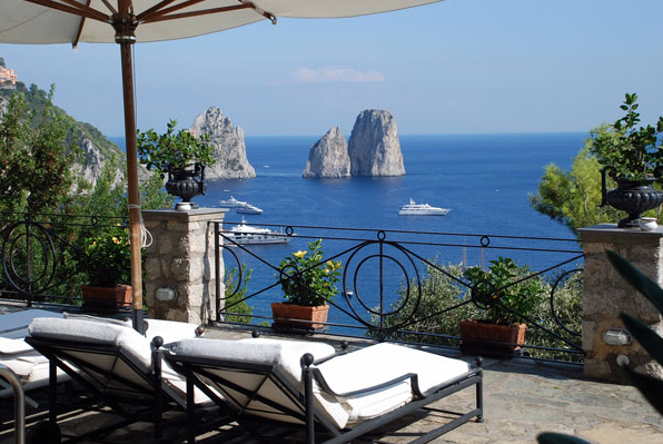 luxury 4 bedroom villa for rent in capri italy villa i