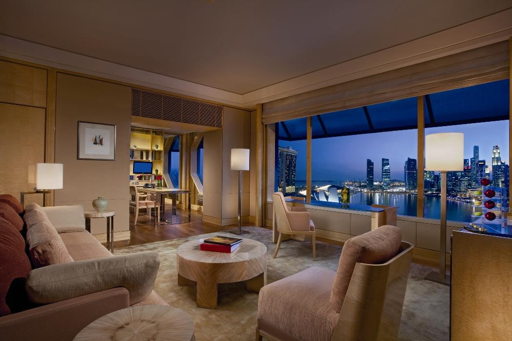 Ritz Carlton Millenia Singapore Millenia Suite