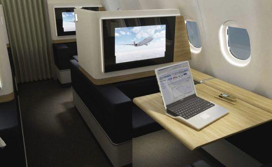 Swiss Air Lines First Class 01