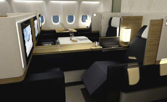Swiss Air Lines First Class 02