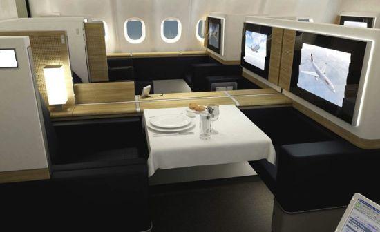 Swiss Air Lines First Class