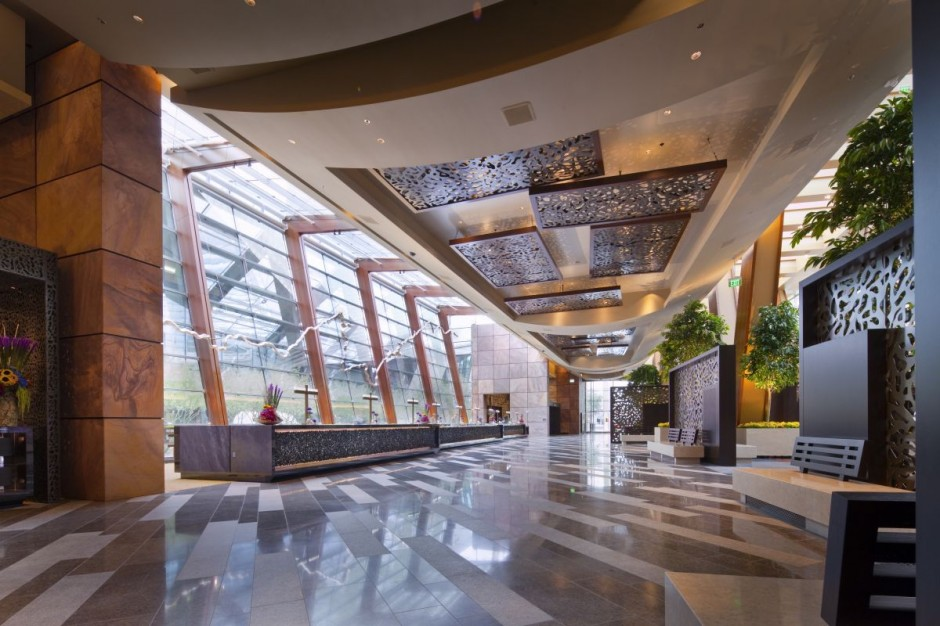 The ARIA Resort And Casino Las Vegas Designed By Pelli Clarke
