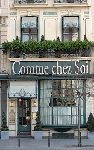 Comme Chez Soi Restaurant Brussels