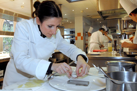 Anne sophie pic from maison pic is the world s best female for Restaurant valence france