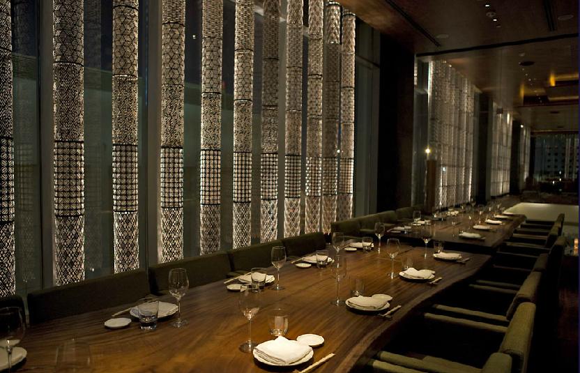 Contemporary japanese cuisine in dubai zuma restaurant