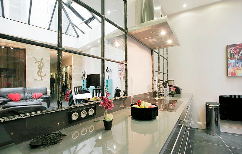 Luxury  Bedroom Furnished Loft Apartment For Rent In