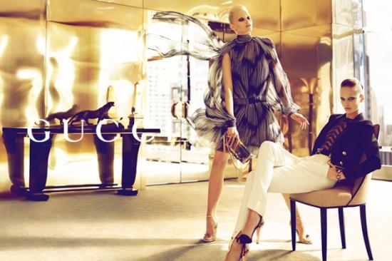 ea6f43de35579 Gucci Spring Summer 2012 Ad Campaign and Video