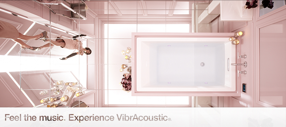 Music and vibrations in your tub: Underscore VibrAcoustic baths by ...