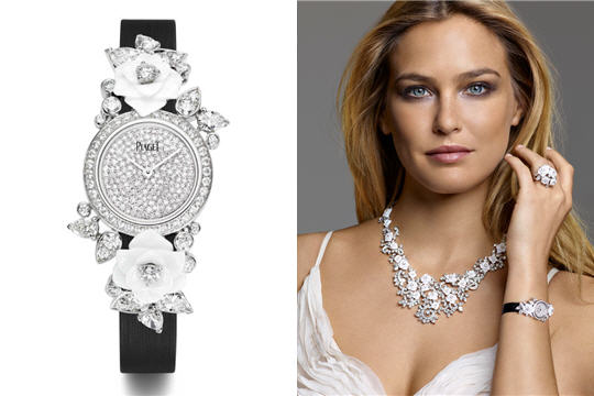 Piaget Rose Jewelry Collection For The