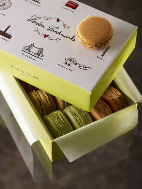 Olympic Themed Macaron Collections By Fauchon And Pierre