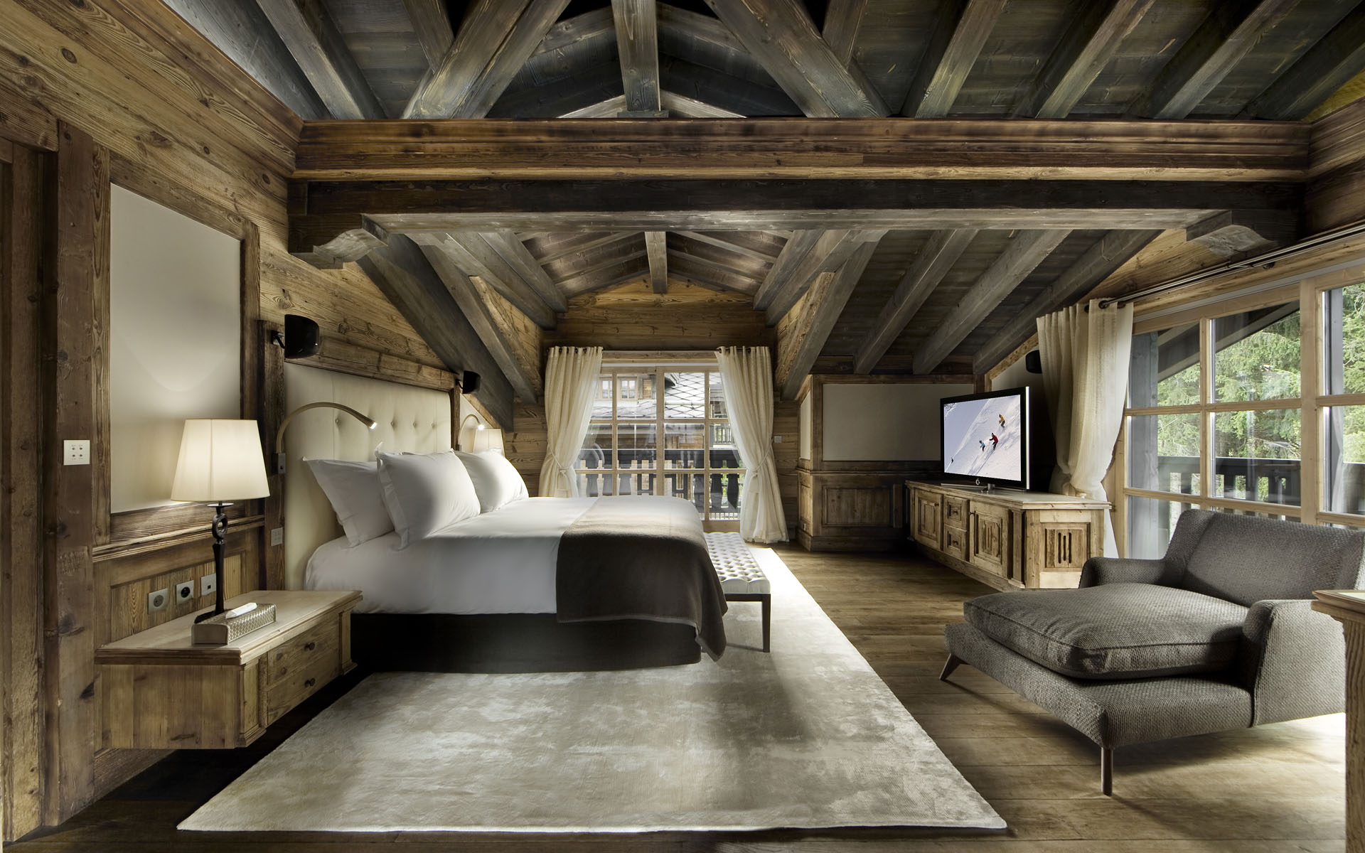 One-of-a-kind luxury ski chalet in Courchevel 1850, France | Blog ...
