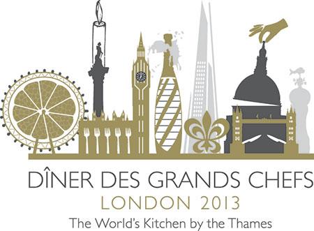 Diner Des Grands Chefs London 2013 logo