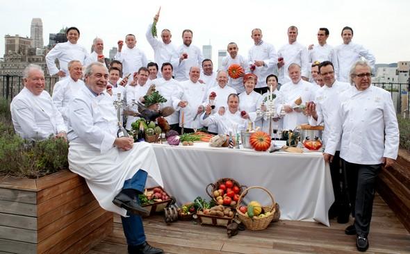 Diner Des Grands Chefs London 2013