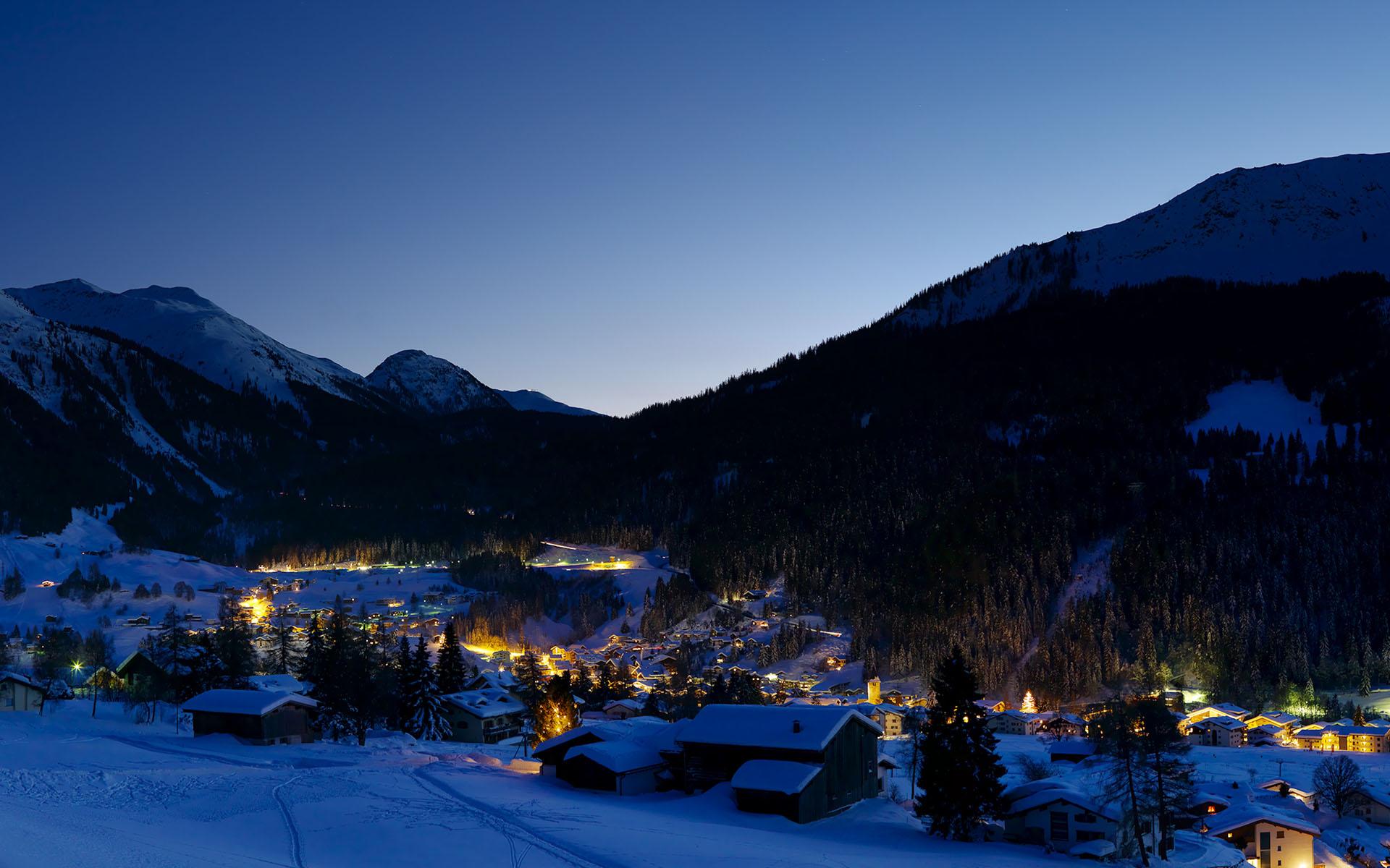 Klosters ski resort switzerland