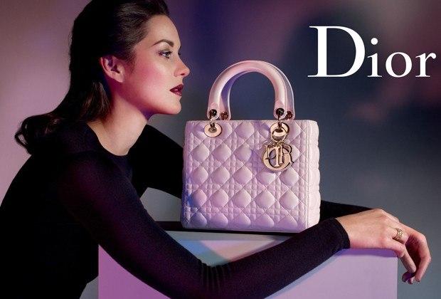 Marion Cotillard for LADY DIOR  handbags Spring 2013 pic 2
