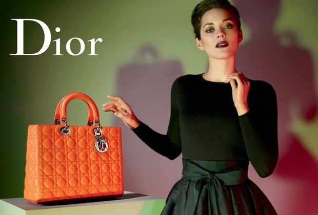 Marion Cotillard for LADY DIOR  handbags Spring 2013 pic 3