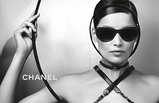 Chanel Spring 2013 Eyewear Ad Campaign with Laetitia Casta 01