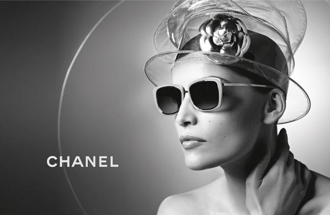 Chanel Spring 2013 Eyewear Ad Campaign with Laetitia Casta 02