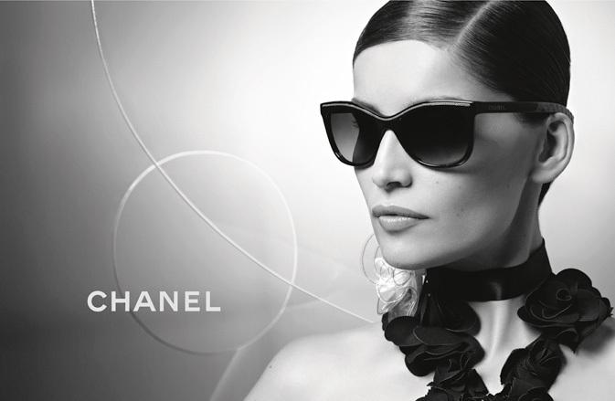 Chanel Spring 2013 Eyewear Ad Campaign with Laetitia Casta 03
