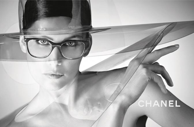 Chanel Spring 2013 Eyewear Ad Campaign with Laetitia Casta 05