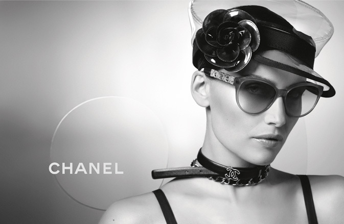 Chanel Spring 2013 Eyewear Ad Campaign with Laetitia Casta 06