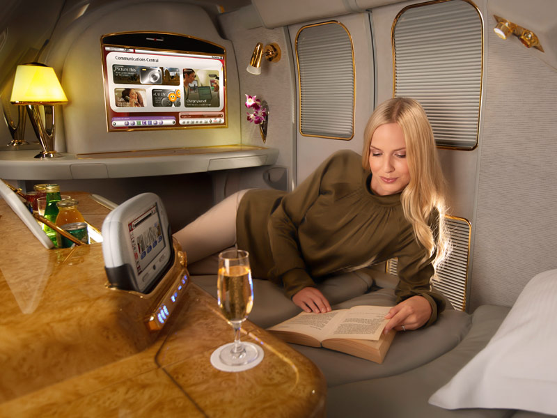 Emirates Airlines First Class Suite 01
