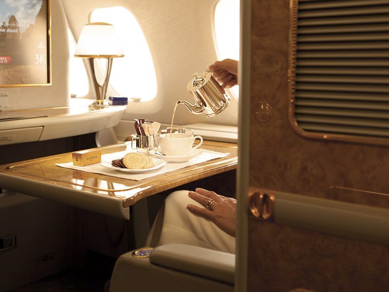 Emirates Airlines First Class Suite 03