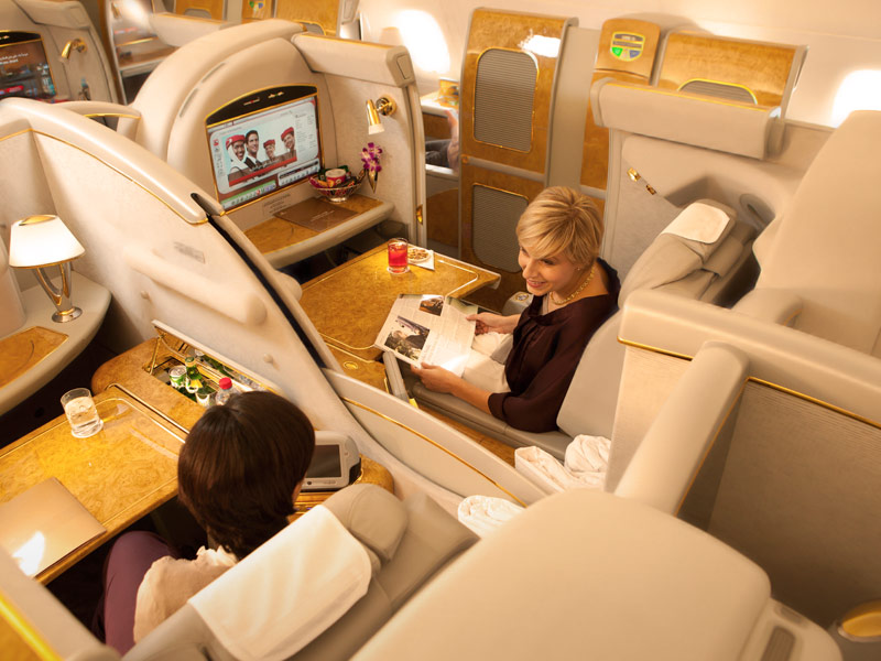 Emirates Airlines First Class Suite 04