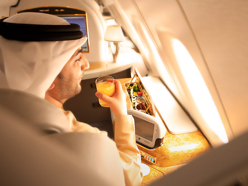 Emirates Airlines First Class Suite 06
