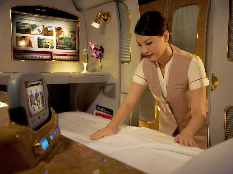 Emirates Airlines First Class Suite 08