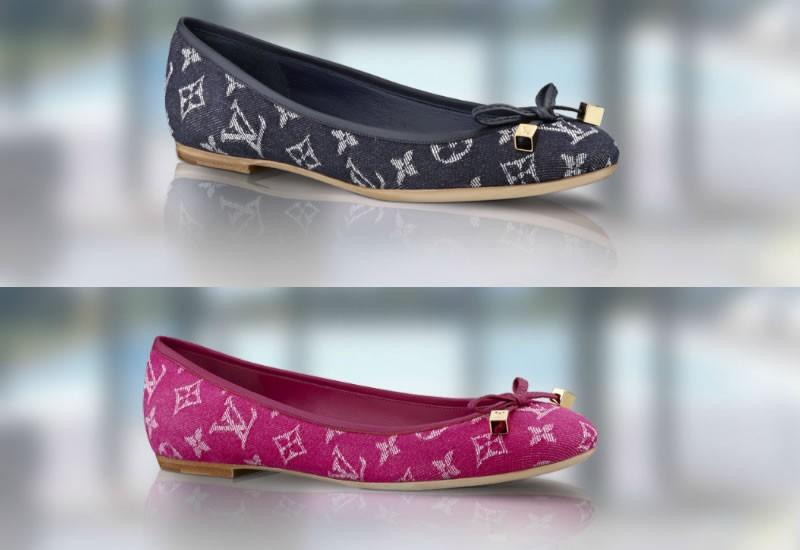 Louis Vuitton Monogram Denim Footwear Collection 01