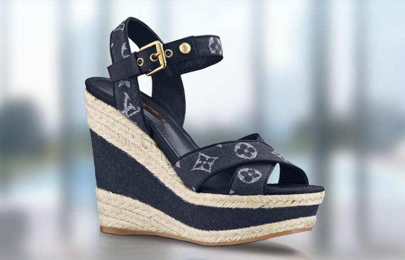 Louis Vuitton Monogram Denim Footwear Collection 02