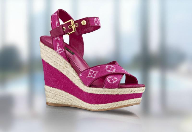 Louis Vuitton Monogram Denim Footwear Collection 03