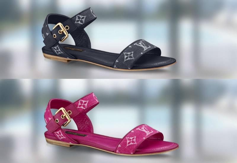 Louis Vuitton Monogram Denim Footwear Collection 05