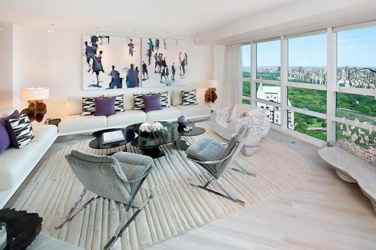 Ultra-modern apartment overlooking Central Park in New York City ...