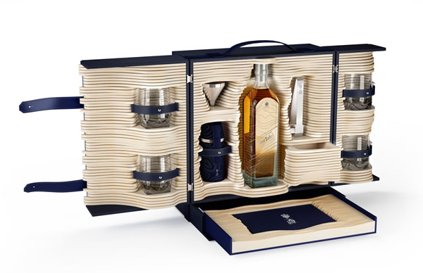 Johnnie Walker Blue Label limited edition collection by Alfred Dunhill 01
