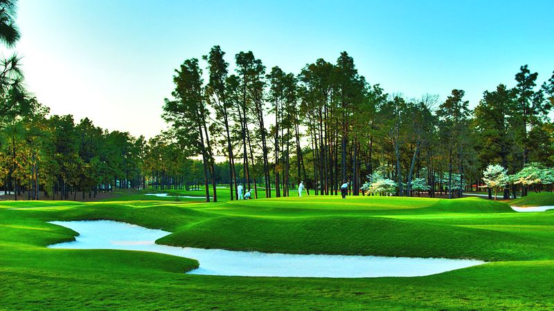 Pinehurst golf course North Carolina