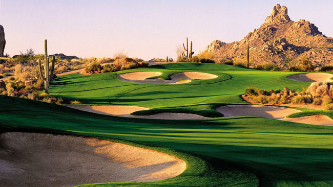 Scottsdale Arizona Golf Course