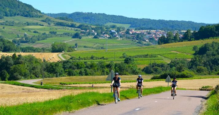 Burgundy Bike Tour cycling vacation France 07