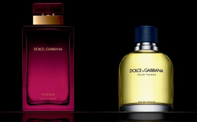 Dolce and Gabbana fragrances