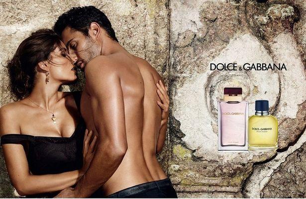Laetitia Casta Noah Mills by Mario Testino for Dolce Gabbana Intense fragrance for women