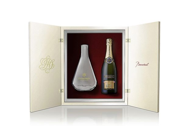 Baccarat for Duval-Leroy Champagne gift set