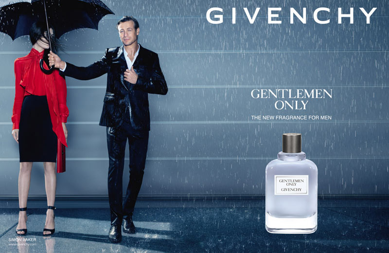2013 Givenchy Gentlemen Only Fragrance Ad Campaign with Simon Baker