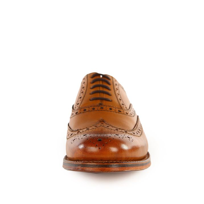 Grenson Stanley Tan Brogue Shoes pic 05
