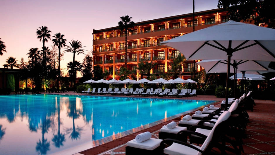 Image gallery morocco marrakech luxury hotel for Luxury hotel guide