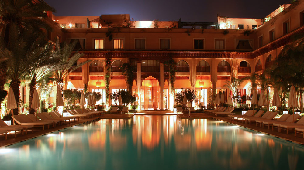 The top 10 luxury hotels in marrakech morocco blog for Les jardins de la villa spa