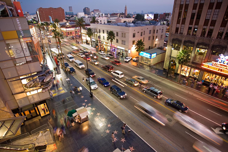 Los Angeles Hollywood Blvd