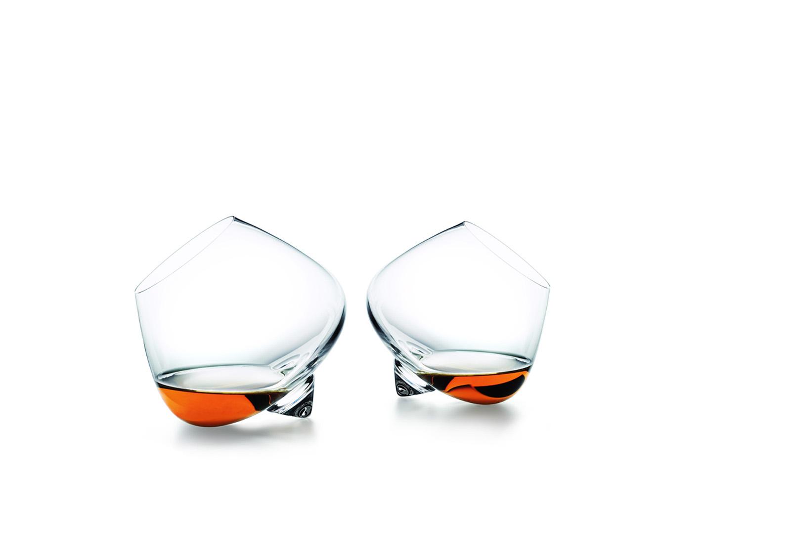 Normann Copenhagen Cognac Glasses by Rikke Hagen